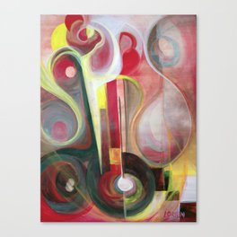 Guitarra Alegre Canvas Print