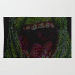 Slimer: Ghostbusters Screenplay Print Rug
