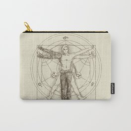 Vitruvian Alchemist Carry-All Pouch