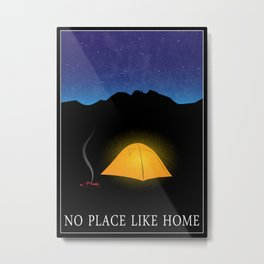 No place like home Metal Print