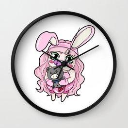Cute Little Brat Teddy Ageplay ABDL DDLG gift Wall Clock
