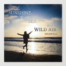 Wild Air Canvas Print