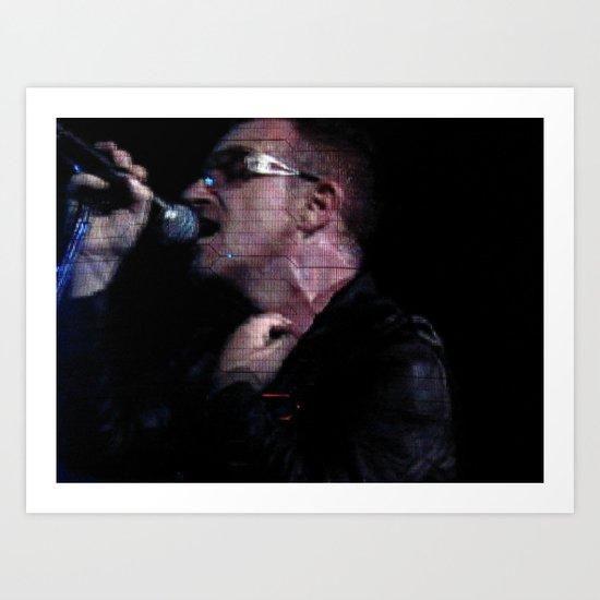 Bono 2 Art Print