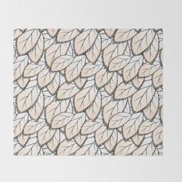 Leaves 2 Throw Blanket