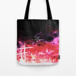 God's in his heaven Tote Bag