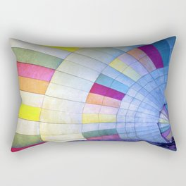 Make a balloon ride Rectangular Pillow