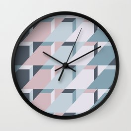 Nordic Winter #society6 #nordic #pattern Wall Clock