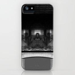 Alien Supper iPhone Case