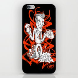 BURNER MONEY iPhone Skin