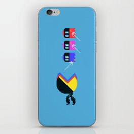 Pac Ninja, Pixelated Terror of the Night   videogame #tribute   #pixelart iPhone Skin