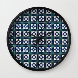 Azulejo 2 Wall Clock