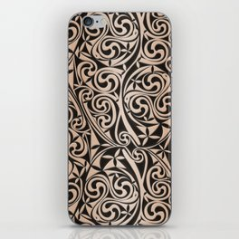 Celtic Warlord carbon iPhone Skin