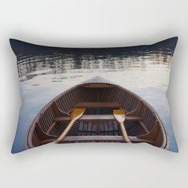 No where to row Rectangular Pillow