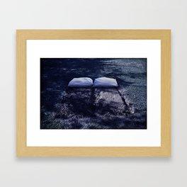 Sleep together Framed Art Print