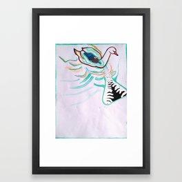 Fingertips of Water Framed Art Print