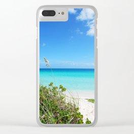 93. Must Beautiful Beach, Cuba Clear iPhone Case