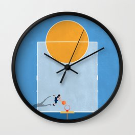 Shoot Hoops  Wall Clock