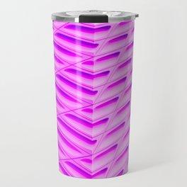 Pink Capsules Travel Mug