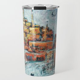 Evening city far, far away Travel Mug