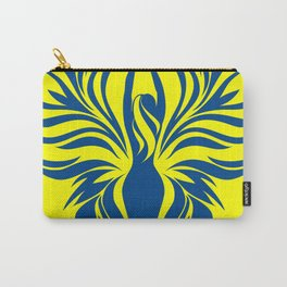 Aura Wings (Maize & Blue) Carry-All Pouch