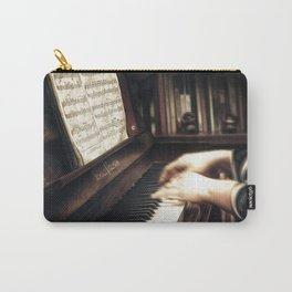 Music. The piano lesson. Carry-All Pouch