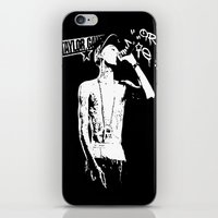 wiz khalifa iPhone & iPod Skins featuring Wiz Khalifa by JuceOcean