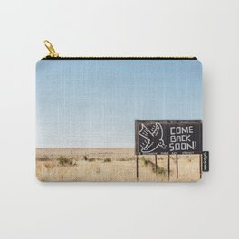 Leaving Marfa Carry-All Pouch