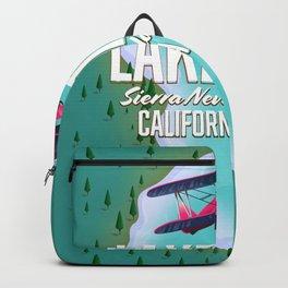 Lake Tahoe map Backpack