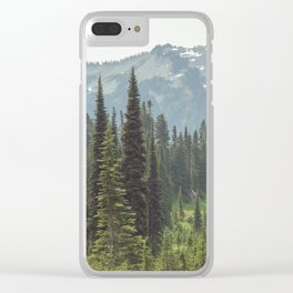 Escape to the Wilds - Nature Photography Clear iPhone Case