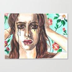 Sad Clown Canvas Print