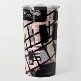 Black Railways Travel Mug
