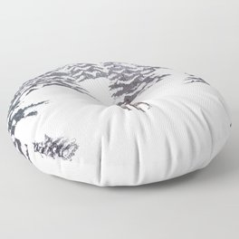 King of the Forest Floor Pillow