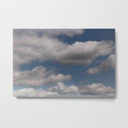 Cloudville Metal Print