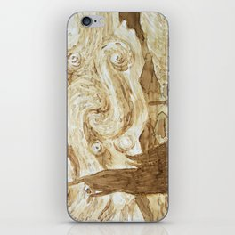 Coffee Starry Night iPhone Skin