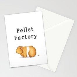 Pellet Factory - Guinea Pig Poop Stationery Cards