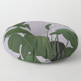 Happiness is growing things Floor Pillow