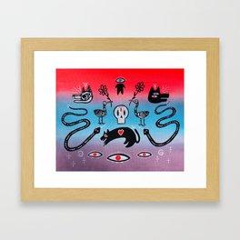 Voodoo Reflections #4 Framed Art Print