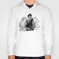 die hard Hoodies featuring Badass 80's Action Movie Quotes - Die Hard by Casa del Kables