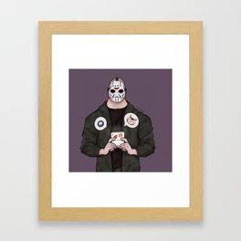 Jason's Downtime - Friday 13th Inspired Art Framed Art Print