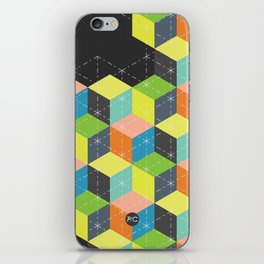 Island of Cubes iPhone Skin
