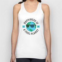 Happiness Is A Cool Planet Unisex Tank Top