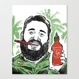 Castro Sauce Canvas Print