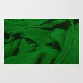 Green Velvet Dune Textile Folds Concept Photography Rug