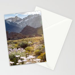 Wildflowers in Alabama Hills Stationery Cards