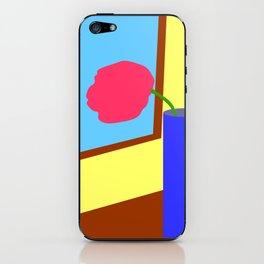 Tulip at the window iPhone Skin