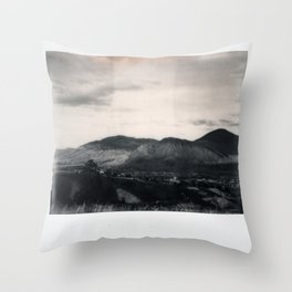 Kamloops Spectra B&W Throw Pillow