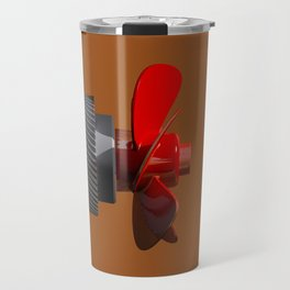 Propeller with gear Travel Mug