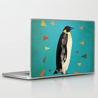 penguin Laptop & iPad Skins featuring penguin by gazonula