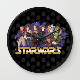 Rebel girls Wall Clock