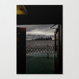 Doorway to NYC Canvas Print